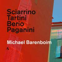 Sciarrino, Tartini, Berio & Paganini: Works for Solo Violin