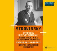 Stravinsky: Symphony No. 1 & Suites Nos. 1 & 2 for chamber orchestra