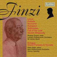 Finzi: A Severn Rhapsody, Eclogue & other works