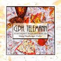 Telemann: Fantasias (12) for solo violin, TWV 40:14-25