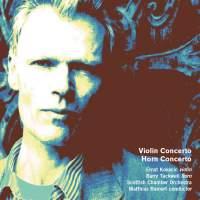 Holloway: Violin Concerto & Horn Concerto