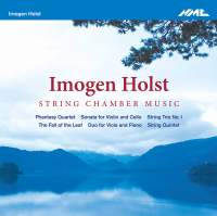 Imogen Holst: String Chamber Music