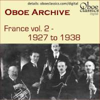 Oboe Archive, France, Vol. 2 - 1927 to 1938