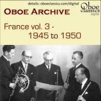 Oboe Archive, France, Vol. 3