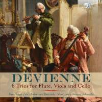 Devienne: 6 Trios for Flute, Viola and Cello