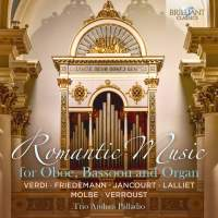 Romantic Music for Oboe, Bassoon and Organ