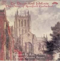 Te Deum & Jubilate, Vol. 3