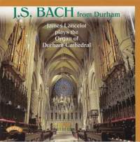 J S Bach from Durham Cathedral