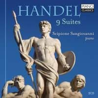 Handel: 9 Suites (on piano)