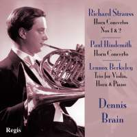 Horn Concertos by Strauss and Hindemith