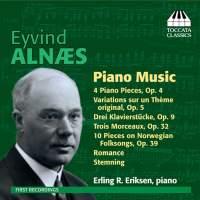 Eyvind Alnæs: Piano Music
