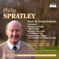 Philip Spratley: Orchestral Music, Volume One