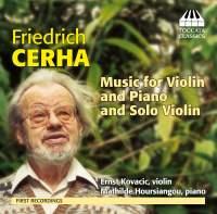 Cerha: Music for Violin and Piano and Solo Piano