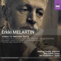Erkki Melartin: Songs to Swedish Texts