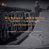 Gundula Janowitz - The Last Recital