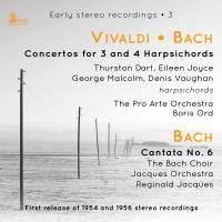 Vivaldi & Bach: Concertos for 3 & 4 Harpsichords
