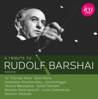 A tribute to Rudolf Barshai