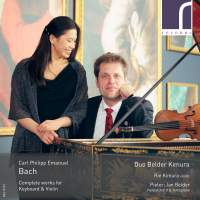 CPE Bach: Complete Works for Keyboard & Violin