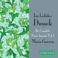 Jan Ladislav Dussek: The Complete Piano Sonatas Vol. 1