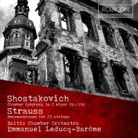 Leducq-Barôme conducts Shostakovich & Strauss