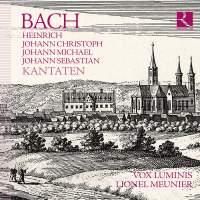 BACH: Heinrich, Johann Christoph, Johann Michael, Johann Sebastian - Kantaten