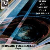 Berio - Amy - Darasse -Jolas - Boesmans