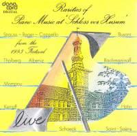 Rarities of Piano Music at the Husum Festival 1993