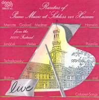 Rarities of Piano Music at the Husum Festival 2000