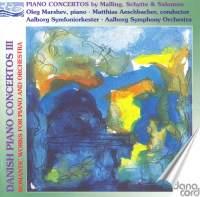 Malling, Schytte & Salomon - Danish Piano Concertos
