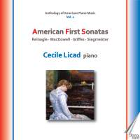 Anthology of American Piano Music, Vol. 1: American First Sonatas