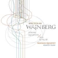Weinberg: String Quartets Nos 8-10