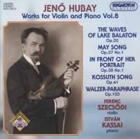 Hubay - Works for Violin & Piano Vol. 8