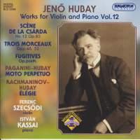 Hubay - Works for Violin & Piano Vol. 12