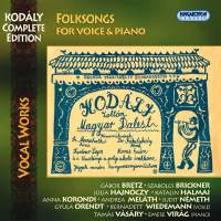 Kodaly Complete Edition: Folksongs for Voice and Piano