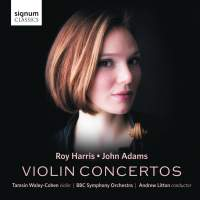 John Adams & Roy Harris: Violin Concertos
