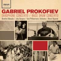 Gabriel Prokofiev: Saxophone Concerto, Bass Drum Concerto