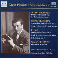 Great Pianists - Moiseiwitsch 2