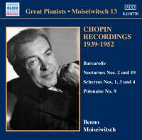 Great Pianists - Moiseiwitsch 13