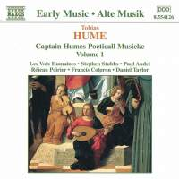 Tobias Hume: Captain Humes Poeticall Musicke Vol. 1