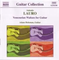 Antonio Lauro - Guitar Music Volume 1