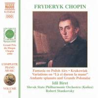 Chopin: Fantasia on Polish Airs