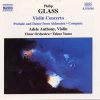 Glass: Violin Concerto