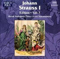 Johann Strauss I Edition, Volume 3