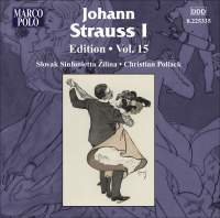 Johann Strauss I Edition, Volume 15