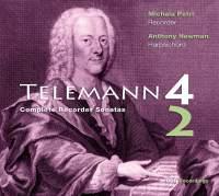 Telemann: Complete Sonatas for Recorder & Basso Continuo