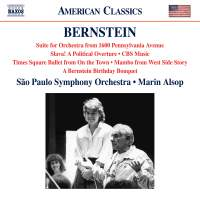Bernstein: Suite For Orchestra From 1600 Pennsylvania Avenue