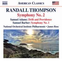 Randall Thompson & Barber: Symphonies