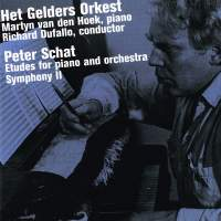 Schat, Peter: etudes for piano and orch. / sympho