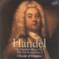 Handel - Chamber Music Vol. 3