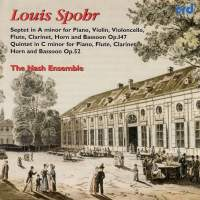 Spohr: Quintet for flute, clarinet, horn, bassoon & piano in C minor, Op. 52, etc.